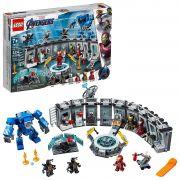 LEGO AVENGERS DISNEY MARVEL ULTIMATO SALÃO DE ARMADURAS DO IRON-MAN