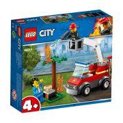 LEGO CITY 60212 FOGO NO CHURRASCO