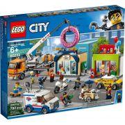LEGO CITY INAUGURAÇÃO DA LOJA DE DONUTS 60233