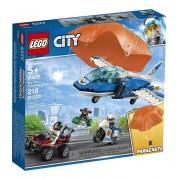 LEGO CITY POLICIA AÉREA DETENÇÃO DE PARAQUEDAS 60208 LEGO