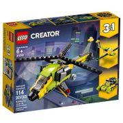 LEGO CREATOR 31092 HELICÓPTEROS DE AVENTURA 3 EM 1