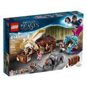 LEGO HARRY POTTER 75952 ANIMAIS FANTÁSTICOS MALETA MÁGICA DO NEWT