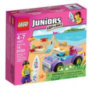 LEGO JUNIOR PASSEIO PRAIA MENINAS 10677
