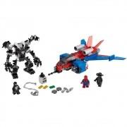 LEGO MARVEL HOMEN ARANHA SPIDERJET VS. ROBO VENOM 76150 LEGO