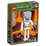 LEGO MINECRAFT ESQUELETON GIGANTE E CUBO DE MAGNA 21150
