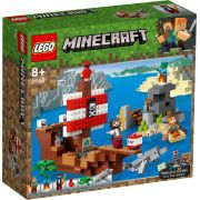 LEGO MINECRAFT A AVENTURA DO BRACO PIRATA 21152