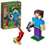 LEGO MINECRAFT STEVE GIGANTE E PAPAGAIO 21148