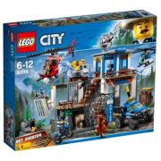 LEGO CITY QUARTEL GENERAL DA POLICIA NA MONTANHA 60174
