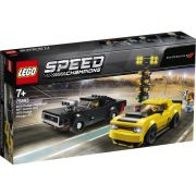 LEGO SPEED CHAMPIONS 75893 DODGE CHALLENGER DEMON E CHARGER