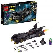 LEGO SUPER HEROES BATMÓVEL PERSEGUIÇÃO DO CORINGA 76119