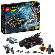 LEGO SUPER HEROES COMBATE BAT-MOTO MR. FREEZE 76118