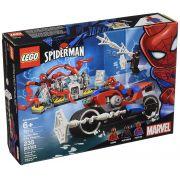 LEGO SUPER HEROES MARVEL SPIDER MAN MOTO DE RESGATE