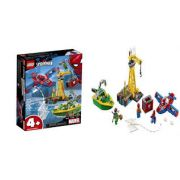 LEGO SUPER HEROES MARVEL SPIDER-MAN O ASSALTO AOS DIAMANTES DE DOCK OCK 76134