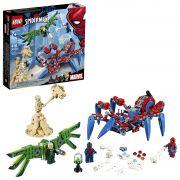 LEGO SUPER HEROES SPIDER - MAN ARANHA ROBÔ