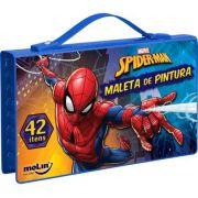 MALETA DE PINTURA SPIDERMAN 42 ITENS MOLIN 05284