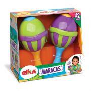 MARACAS C/2 UNIDADES ELKA 745