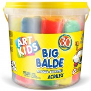 MASSINHA DE MODELAR BIG BALDE ART KIDS 1,5KG 40023 ACRILEX