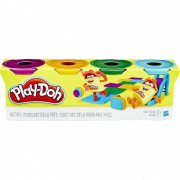 MASSINHA PLAY-DOH COM 4 POTES B5517 HASBRO
