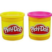 MASSINHA PLAY DOH CORES NEON 2 CORES