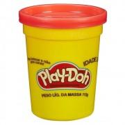 MASSINHA PLAY-DOH POTE 112G VERMELHO B6756 HASBRO