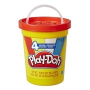 MASSINHA PLAY-DOH SUPER 4 CORES POTE LARANJA E5045 HASBRO