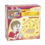 MATERIAL DOURADO INDIVIDUAL 62 PC CARLU 3011