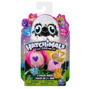 MINI FIGURA SURPRESA HATCHIMALS COLLEGGTIBLES PACK 2 UM SERIE 2  SUNNY