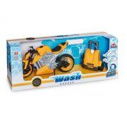 MOTO SPORT WASH GARAGE AMARELO 460 USUAL PLASTIC