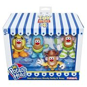 NOVO BRINQUEDO MR POTATO HEAD KIT COM 4 BONECOS
