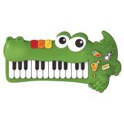 PIANO MUSICAL JACARÉ INFANTIL 6302 BRASKIT