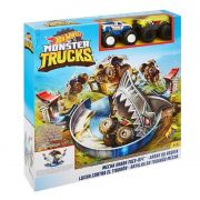 PISTA HOT WHEELS MONSTER TRUCKS TUBARAO MATTEL FYK14