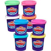 PLAY DOH MASSA MODELAR PLUS COM 8 POTES