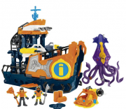 PLAYSET IMAGINEXT NAVIO COMANDO DO MAR