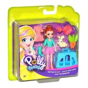 POLLY POCKET LILA COM BICHINHO