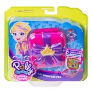 POLLY POCKET PLAYSET E MINI BONECA CANTINHO DA PRINCESA