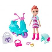 POLLY POCKET SCOOTER AVENTURA EM RODAS
