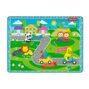 TAPETE EMBORRACHADO FISHER PRICE 160X120 FUN 7967-8