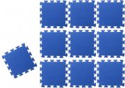TAPETE TATAME EVA AZUL ROYAL KIT 10 UNID. (50 x 50cm x 10mm)