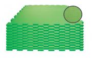 TAPETE TATAME VERDE CLARO KIT 10 UNID. (100 X 100CM X 10MM)