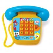 TELEFONE FONINHO SONORO GALINHA PINTADINHA MINI 1087 ELKA