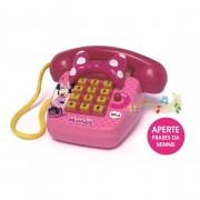 TELEFONE FONINHO SONORO MINNIE DISNEY MUSICAL 1061 ELKA