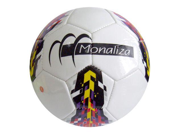 BOLA DE FUTEBOL CORES SORTIDAS N5 MZ15069 MONALIZA