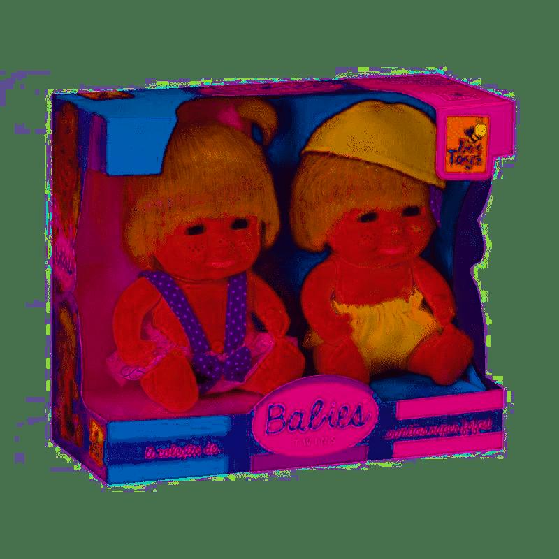 BONECA BABIES TWINS GEMEOS