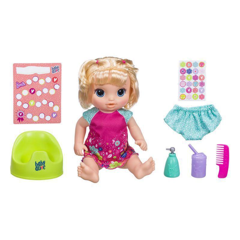 726f2e40d7 BONECA BABY ALIVE PRIMEIRO PENIQUINHO LOIRA HASBRO - Casa Dos Brinquedos