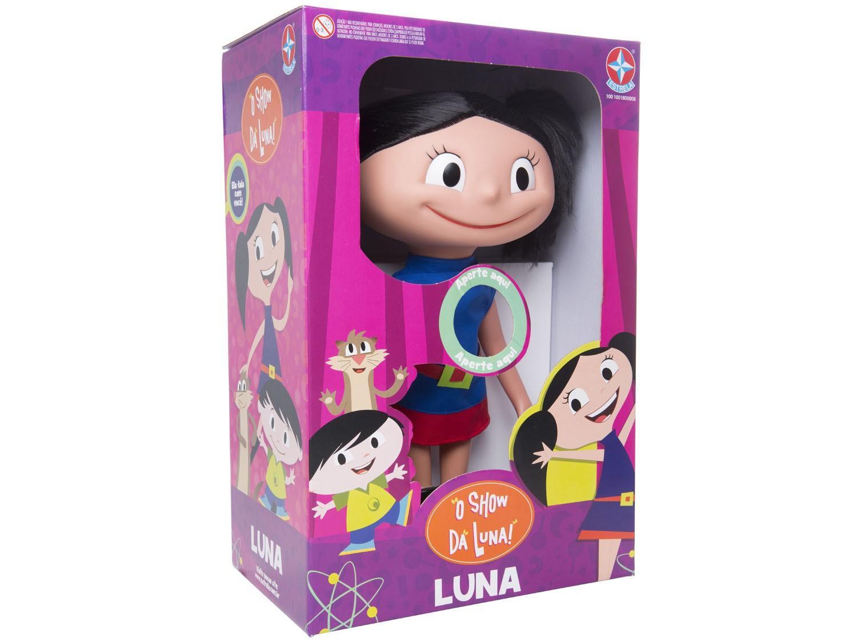 BONECA LUNA O SHOW DA LUNA 1001001800008 ESTRELA