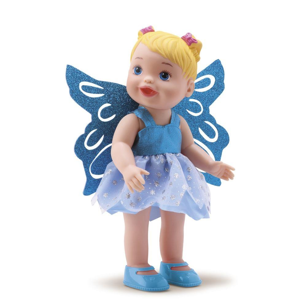 BONECA MY LITTLE COLLECTION FADAS AZUL 8042 DIVERTOYS
