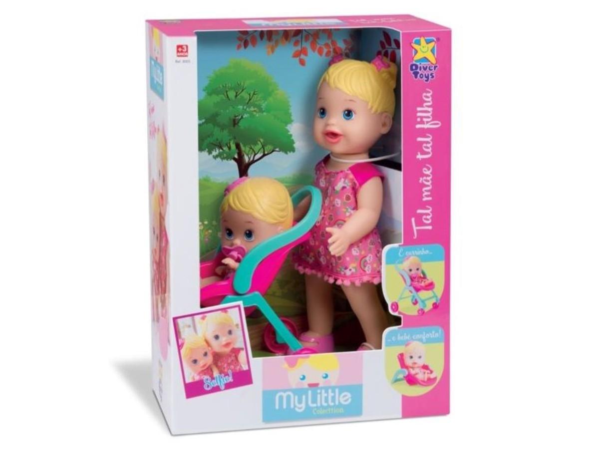 BONECA MY LITTLE TAL MÃE TAL FILHA 8020 DIVERTOYS