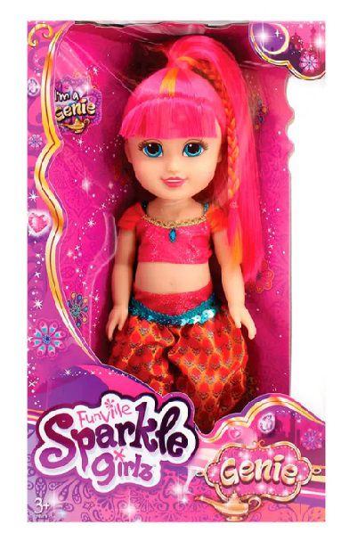 """BONECA SPARKLE GIRLZ 13"""" - GENIA"""