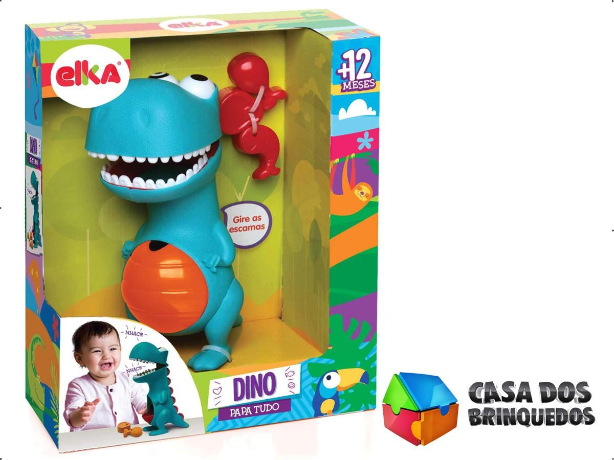 BONECO DINOSSAURO DINO PAPA TUDO 972 ELKA