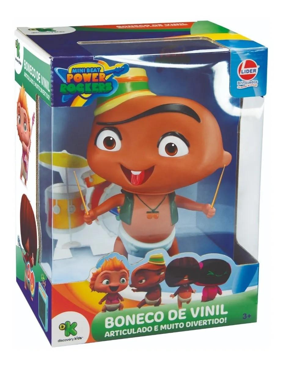 BONECO VINIL CARLOS MINI BEAT POWER ROCKERS 2737 LIDER